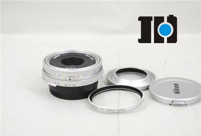 伟德亚洲官网_Nikon尼康 MF 45/2.8P AIS 全幅镜头 手动对焦 银色 98新