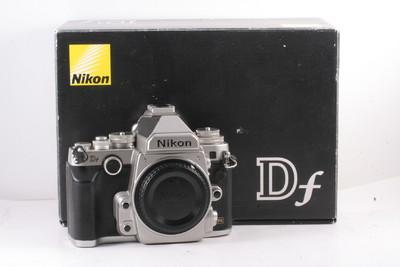 98/尼康 Df 全画幅复古单反相机 银色(全套包装)快门数1024次