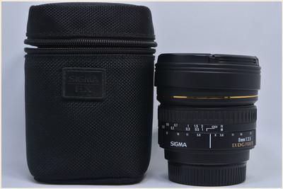 适马 8mm f/3.5 EX DG Circular Fisheye(尼康口)