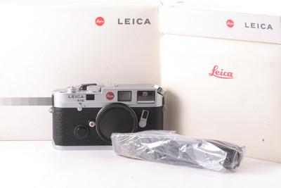 96/徕卡 Leica M6 0.72 小盘 银色 旁轴机身 ( 带包装 )