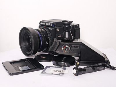 玛米亚RZ67PRO II D 90 3.5镜头 后背 AE眼平测光顶 放大取景器