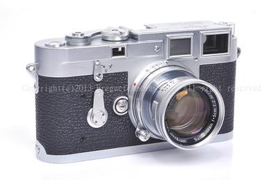 徕卡M3+50/2 第一批M3 1954年产最早期双拨#HK5409