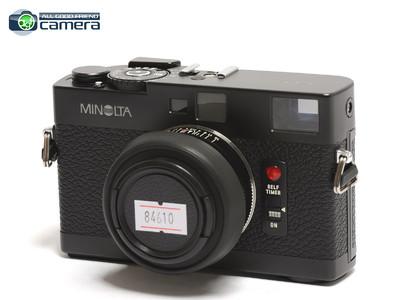 美能达/Minolta CLE 旁轴相机 徕卡M口 连40mm F/2 镜头 *美品*