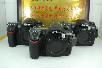 尼康 D200 专业中端 数码单反相机 千万像素 入门练手 可置换