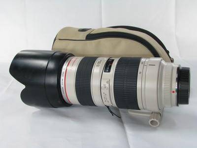 千亿国际娱乐官网首页 EF 70-200mm f/2.8L USM(小白)98新带包
