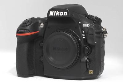 尼康 D810 全画幅专业数码相机 (NO:7597)