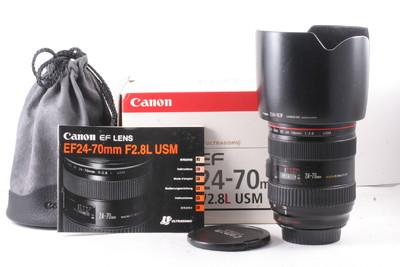 93/千亿国际娱乐官网首页 CANON EF 24-70/2.8L 一代 (全套包装)编号UV