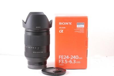 98/索尼 FE 24-240mm f/3.5-6.3 OSS 成色极新(全套包装 )