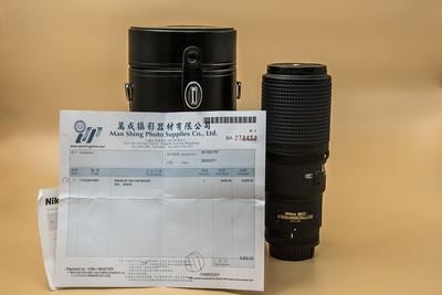 尼康 AF Micro 200mm f/4D IF-ED