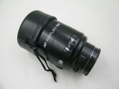 出售 96新 Minolta 500/1.8 自动拆反镜头 请看图片