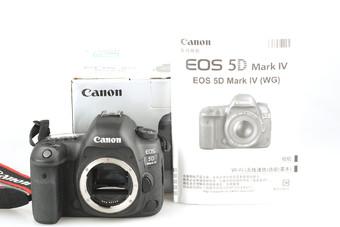 95新 佳能 EOS 5D Mark IV