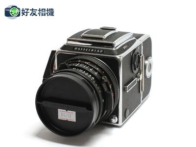 哈苏 503CX相机 连CF 80mm T*镜头,A12背,增亮裂像对焦屏 *美品*