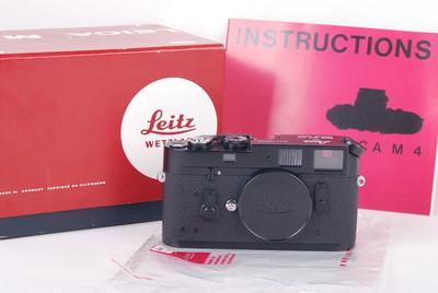 【全新收藏品】徕卡M4 黑漆版 带原装对号盒子#jp19485
