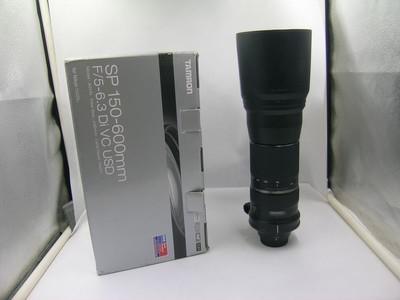 出售 95新 腾龙 150-600mm f/5-6.3 VC 尼康口 包装齐全 请看图片