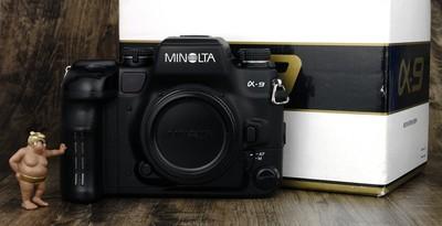 美能达 a9 自动对焦 胶片 单反 旗舰 美品 带包装