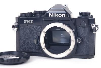 【美品】尼康 FM2 黑色机身 FM2-N #jp19608