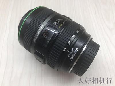 《天津天好》相机行 98新 佳能 70-300/4.5-5.6DO IS 镜头 小绿