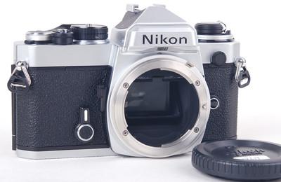 【美品】NIKON/尼康 FE 银色机身 #jp19609
