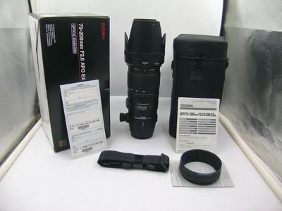 出售 99新 适马 APO 70-200mm F2.8 OS 佳能口 包装齐全 请看图片