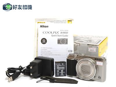 尼康/Nikon Coolpix A900 20.3MP数码相机 银色*如新连盒*