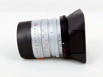 华瑞摄影器材-徕卡Leica Summilux-M 35/1.4 Asph 银色11883