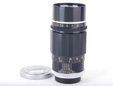 【美品】佳能 135/3.5 黑色旁轴镜头 徕卡 L39口 #jp19420