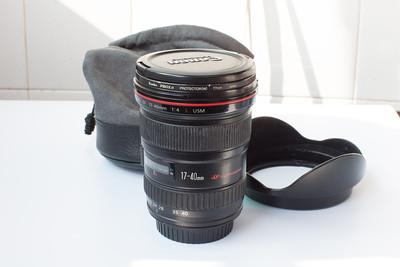 自用佳能 EF 17-40mm f/4L USM