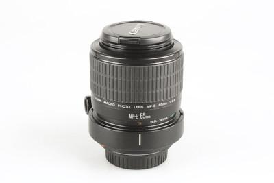 98新 佳能 MP-E 65mm f/2.8 1-5X微距