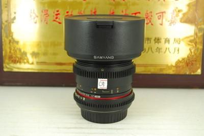 佳能口 三阳 14mm T3.1 全画幅超广角定焦 手动电影镜头 单反镜头