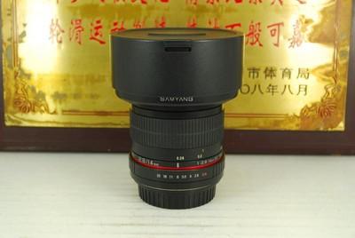 95新 佳能口 三阳 14mm F2.8 全幅超广角 手动单反镜头 定焦