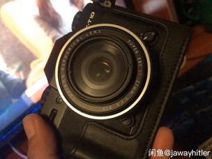 富士 X-T10 镜头 F2.8 27MM