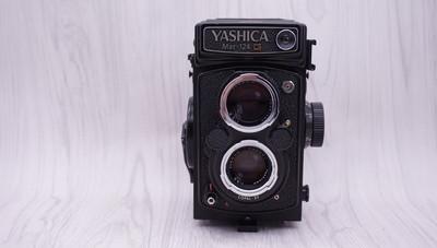 95新YASHICA雅西卡124G双反相机+80/3.5定焦镜头 0330