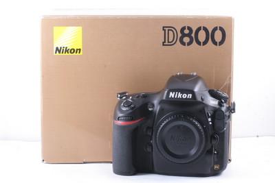 97/尼康 D800 全幅数码机 极新净(全套包装)快门数是4284次
