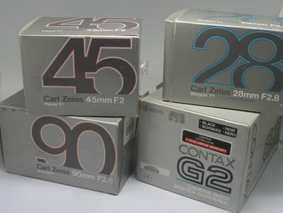 98新 Contax G2 套机 黑色(1260)