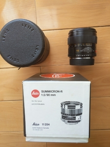 Leica Summicron-R 90  r90 2 E55 大头九 原包装好成色