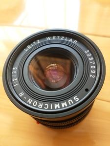 Leica Summicron-R 35 mm f/ 2 30号段 徕卡 35 f2