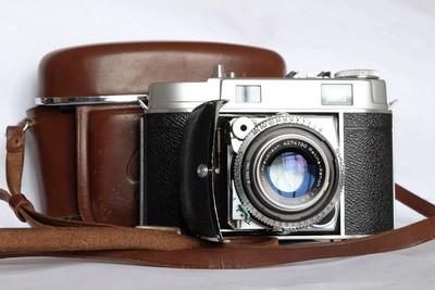 柯达Kodak雷丁娜Retina IIc 折叠机,带原厂皮套