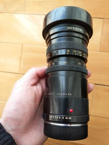 安琴 爱展能angenieux 45-90mm f2.8 徕卡 leica R 变焦名镜