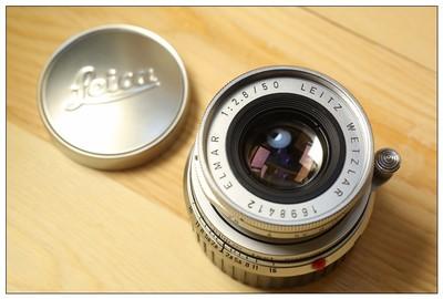 LEICA 徕卡 M 50mm f2.8 镜头 缩头 ELMAR 96新 旁轴 早期
