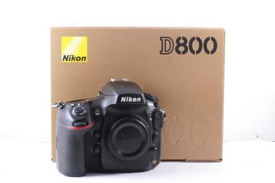 97/尼康 D800 全幅数码机 极新净(全套包装)快门数是3279次