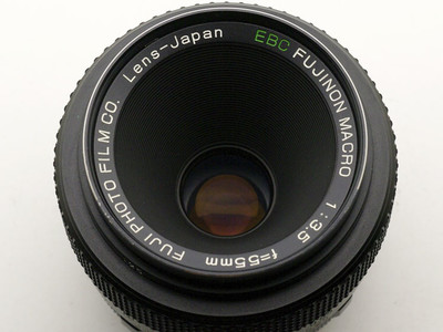 富士/富士侬微距镜头 Fuji Fujinon.T EBC 55mm F3.5 55/3.5