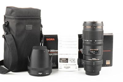 95新 适马 APO 70-200mm F2.8 EX DG OS HSM 尼康口