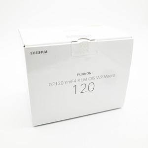 富士GF 120/4 Macro R LM OIS WR中画幅专业微距镜头