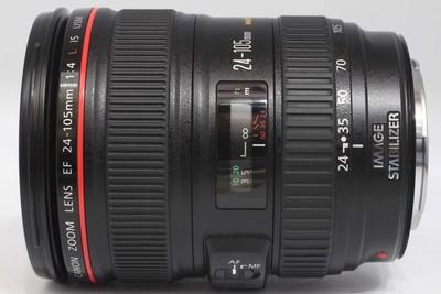 【全画幅标准变焦镜头】佳能 EF 24-105/4L IS USM(NO:0521)