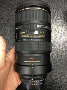 尼康 AF VR80-400mm f/4.5-5.6D ED镜头