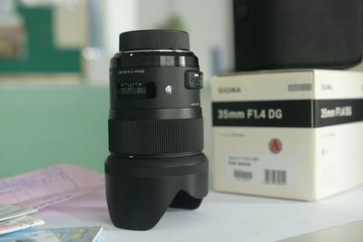 98新箱说包全适马 35mm f/1.4 DG HSM(A)