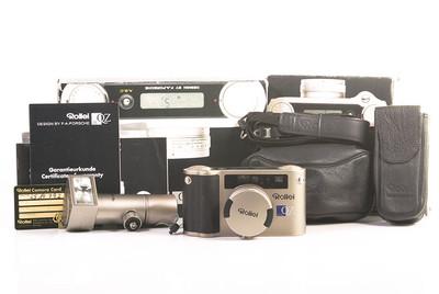 禄来 QZ 35w 菲林相机套装附带闪光灯棒相机袋 #HK7557