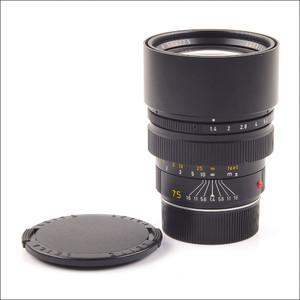 徕卡 Leica M 75/1.4 SUMMILUX-M 二代 加产 34号段