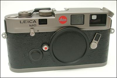 徕卡 Leica M6 Titanium 钛版 鸵鸟皮 旁轴机身