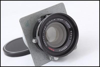 骑士HORSEMAN SUPER TOPCOR 105/4.5 6X9座机镜头